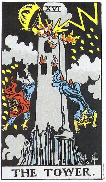 La Torre, Arcano 16